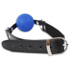 Кляп с синим шариком