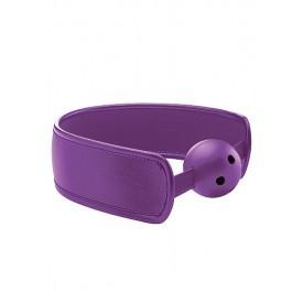 Кляп Brace Balll Purple