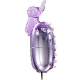 Фиолетовое виброяйцо Elephant
